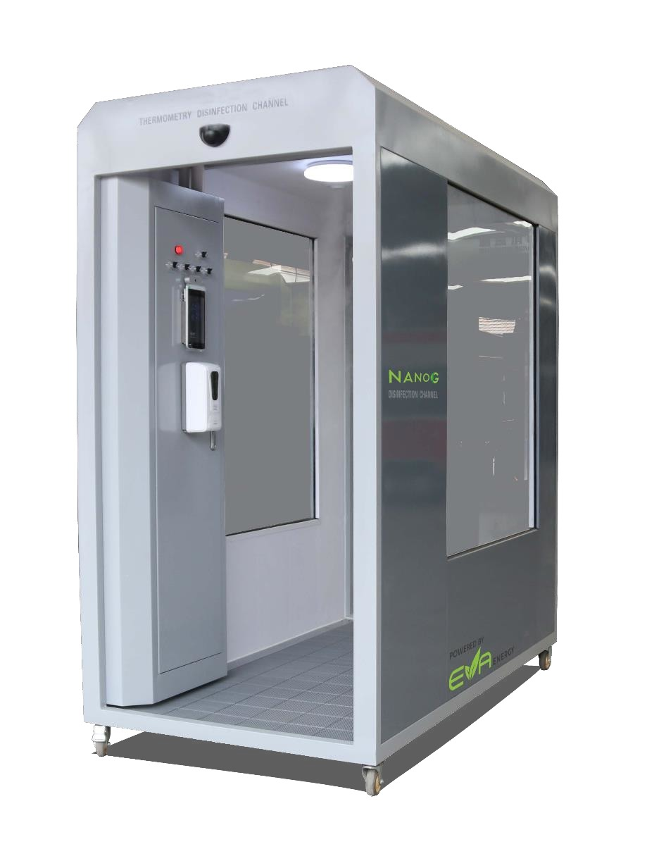 Antiviral Disinfectant Booth