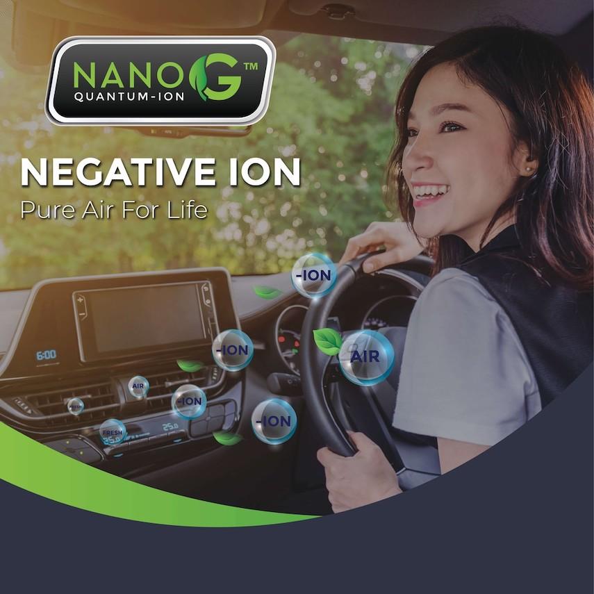 Negative-Ion Patch